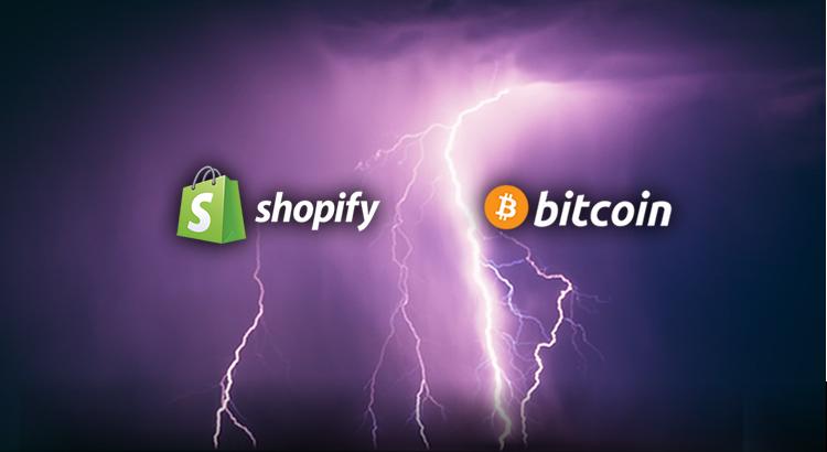 Shopify agora aceita pagamentos pela Lightning Network
