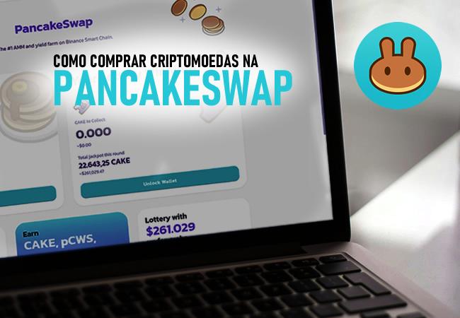 Tutorial: Como comprar criptomoedas na PancakeSwap