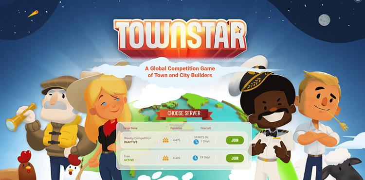 Jogo Town Star da Gala Games